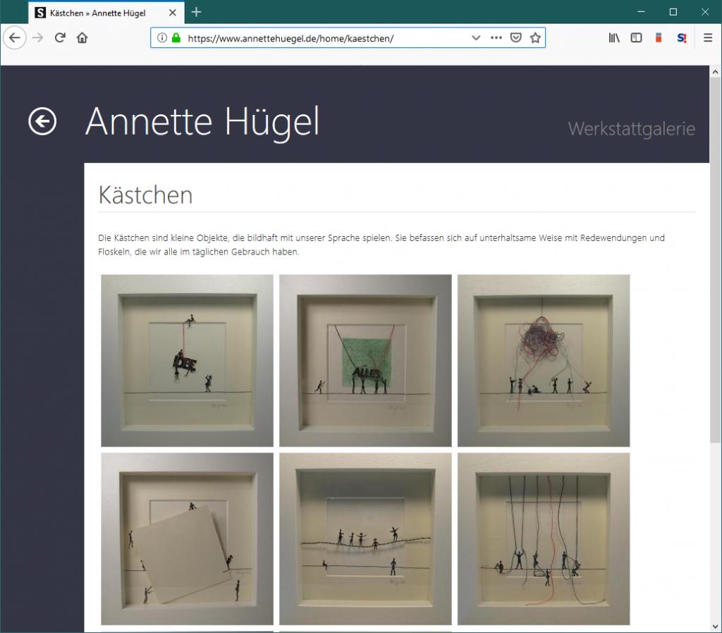 Silverstripe Webseite