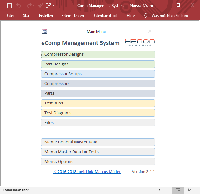 eComp Management System